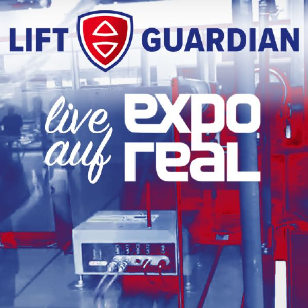 EXPO REAL 2019: Live Performance des LIFT GUARDIAN ein voller Erfolg
